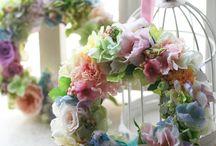 Wreath Flower Garden
