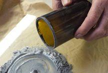 sanding glass