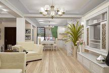 Design interior living clasic / Proiect design interior living clasic de lux realizat pentru casa in Constanta.Mobilierul in stilul clasic a fost executat la coamnda din mdf si elemente din lemn natur culoare ivoire.Parchetul din lemn triplu stratificat model Pearl a fost achizitionat de la producatorul Kahrs.Candelabrele si aplicele de perete sunt in stilul clasic si au fost importate din Italia.Pentru mai multe detalii vizitati siteul nostru web : http://www.nikydecor.ro
