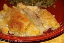 Chix/Dumpling Casserole / Easy casseroles