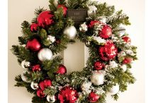 Holiday Wreaths / A decorative wreath can be the perfect 'cherry on top' for your holiday decor.