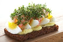Smørrebrød / Danish sandwiches