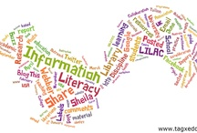 """Information Literacy / """"the adoption of appropriate information behaviour to identify, through whatever channel or medium, information well fitted to information needs, leading to wise and ethical use of information in society."""" (Webber and Johnston)"""
