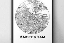 Affiches de villes Pays-Bas