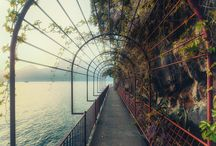 Lario / foto e posti del lago
