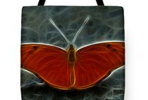 Tote Bag / One of a kind, stylish tote bags for your every day needs.