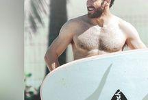 Surfing / Surfing pins, hot surfing guys