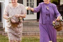 Grandma like to Party