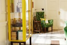 Stockholm glass cabinet