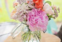 AP fleurs mason jars