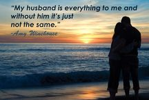 Quotes: Loss of Husband / Popular quotes on the loss of a husband by famous authors, celebrities, and newsmakers. Pin a quote that provides you with comfort or inspiration in your time of need.