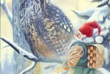 Gnomes, Elves, Brownies and wee-folk creatures / by Debbie Bailey Ray