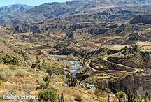 Arequipa & Colca / La ciudad blanca de Arequipa es una de las ciudades más importantes del Perú.  Mientras que el Cañon del Colca es considerado el segundo más profundo del mundo. www.emotiontourperu.com