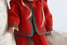 poupées vêtements tricot