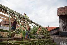 Structures bambou évènementiel
