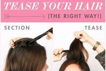volumize hair