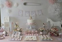 Jackie's baby shower / Baby shower planning / by Amy Korniak Pugsley