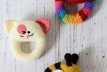 Juguetes crochet bebe