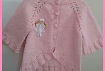 Bebek yelek hırka&Baby cardigan vest
