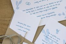 ETC | Wedding / Invitations and Favors