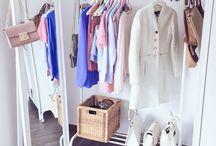 Closet cleaning & organization