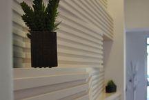 Architettura di interni / Architettura di interni, Home design, interior design, wood, tiles