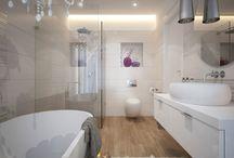 Vizualizácie / Vizualizácie kúpeľní BENEVA
