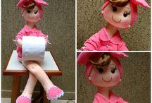 porta papel higiênico Mimi