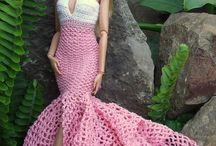 Barbie vestiti uncinetto