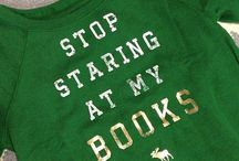 Bookish Gifts, Clothes and Products / All the bookish things you would love to have.