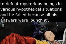 onepunch man