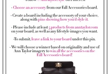 Ann Taylor Fall into Style with Accessories / by annstiptoes