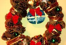 Christmas crown craft