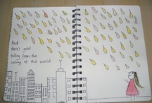 Song lyric art journal / by Agnes