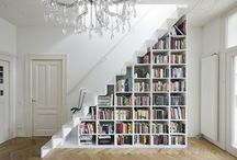 Bibliotheque Sous Escalier