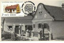 Transylvanian mansions with Dutch gables