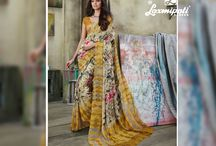 SONPARI - Catalogue / Buy Printed Designer Saree Catalogs online from Laxmipati Saree at wholesale/retail prices.  You will get latest & widest collection of occasional sarees likes bridal, evening, engagement, party, wedding, casual, office and daily wear sarees.Occasion : Casual Wear, Daily Wear, Engagement, Evening Wear, Office Wear, Party Wear Work : Digital print, Printed Georgette blouse piece