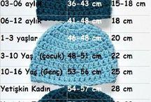 aylara göre şapka ölçüleri