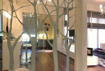 Glass partition & graphics