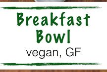 Vegan or Non Vegan Breakfast / * only vegan food * when it is not vegan you can adapt the ingredients to a vegan dish *