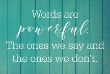 Words can be powerful:)
