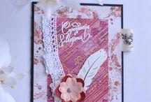 Cardmaking, scrapbooking by Alina Garyaeva