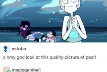 Steven and the Crystal gems