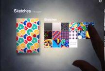 Ipad's sketching apps