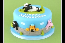 Shaun the Sheep cake / taarten