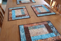 Quilted Placemats / by Susie Milo