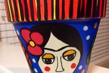 Art on Pots