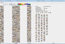 hadí schémata -snake patterns