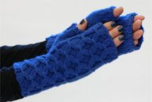 DIY Gloves - Crocheted, knitted, ...