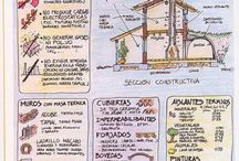 Bioconstruccion / Bioconstruccion, Natural Building, Earthships, Super Adobe, Eco Domos, Casas de Barro, Building with Cob,